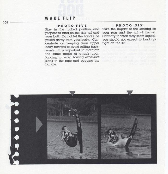 108 Hot Dog Slalom Skiing Book Klarich How To Front Flip 700x