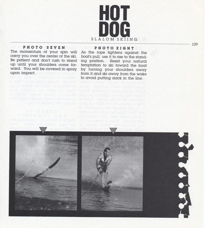 109 Hot Dog Slalom Skiing Book Klarich How To Front Flip 700x