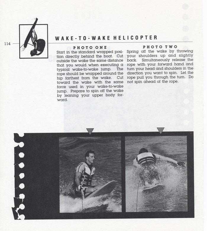 114 Hot Dog Slalom Skiing Book Klarich How To Kneeboard Wake 360 700x