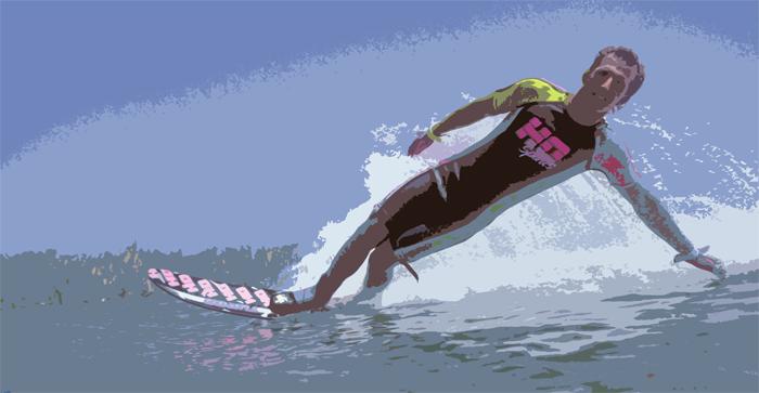 140822 Landing Slalom Hand Plant