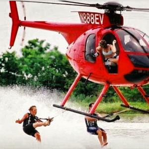 Chris Morrison Keth Saint Onge Barefoot helicopter