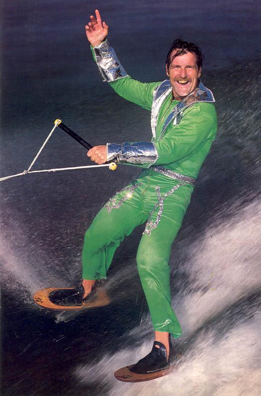 130 AWSKB Skip Shoe Ski Green