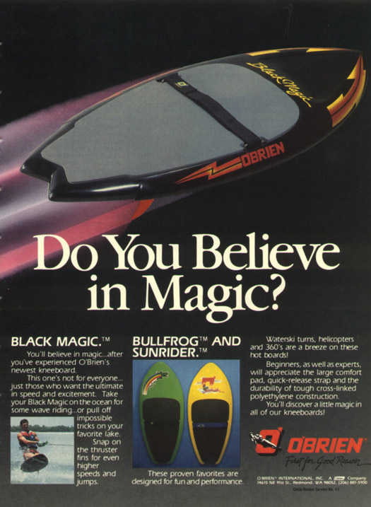 240 AWSKB85 Klarich Black Magic Ad