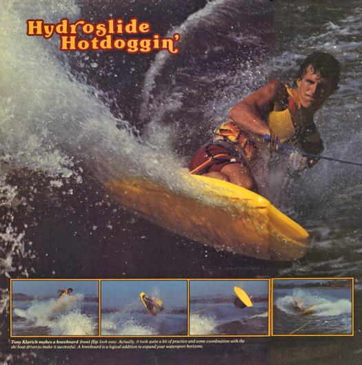 350 AWSKB85 Trailer Boats Hydrosldie Hotdogging
