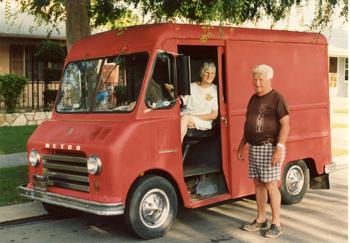 Red Milk Truck Gram & Gramp midway