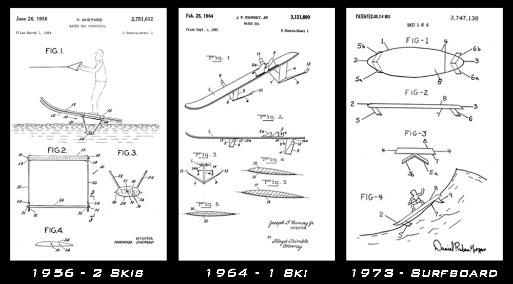 adventures-water-skiing-hydrofoiling-1954-73-patents
