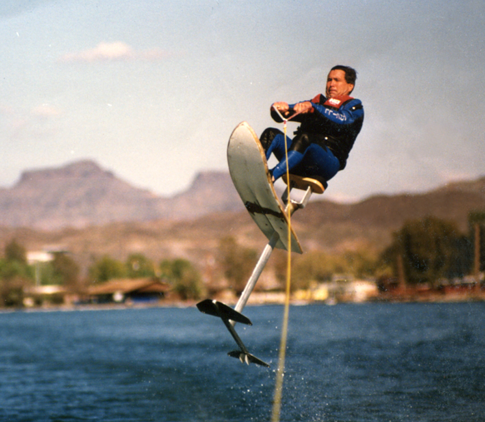 Adventures in Water Skiing, Hydrofoiling. Air Chair.