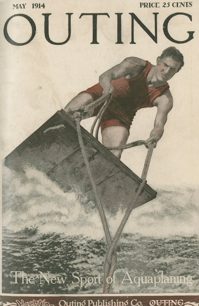 aquaplane history water skiing