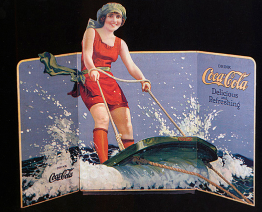 aquaplane coca cola ad coke advertisement water skiing