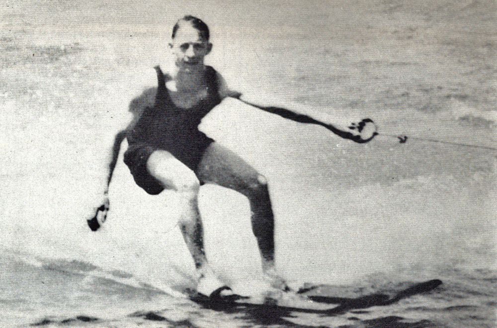 Ralph Samuelson inventor of water skiing