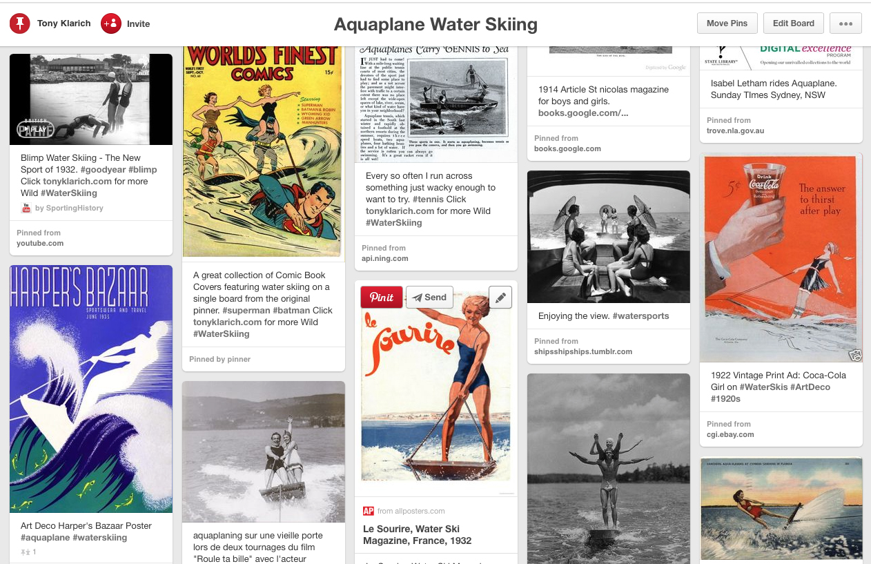Aquaplane board on Pinterest by Tony Klarich
