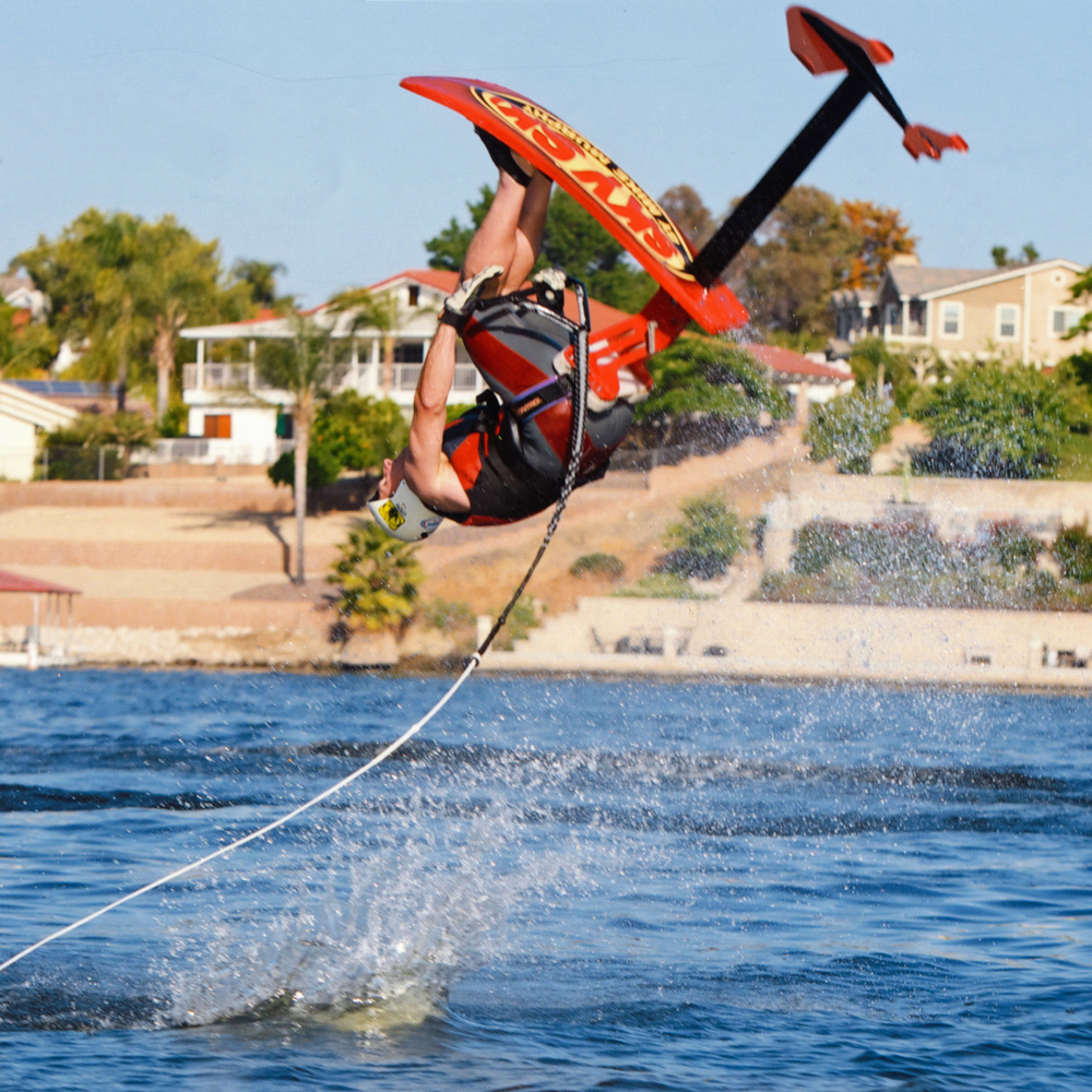 tony klarich hydrofoil water skiing undertaker gainer