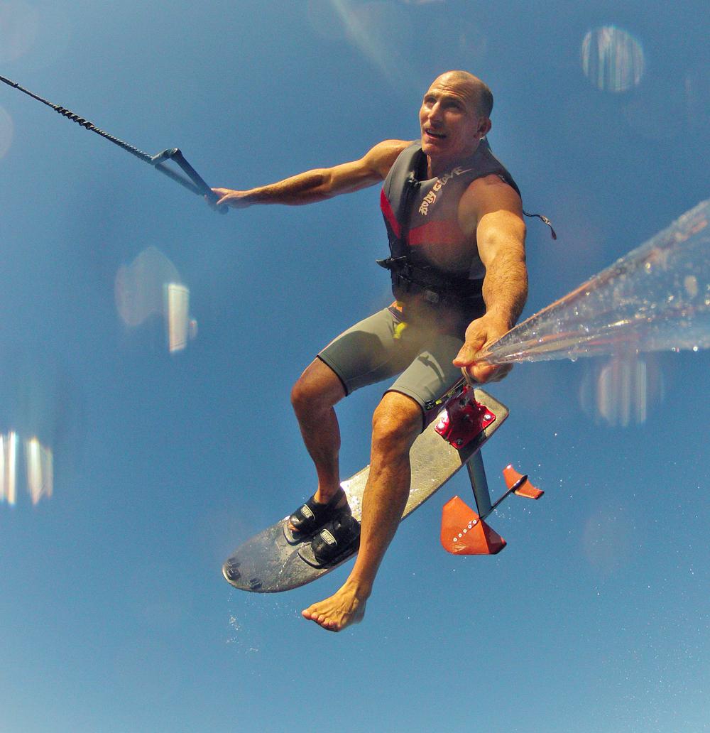 tony klarich hydrofoiling judo gainer gopro selfie gopole