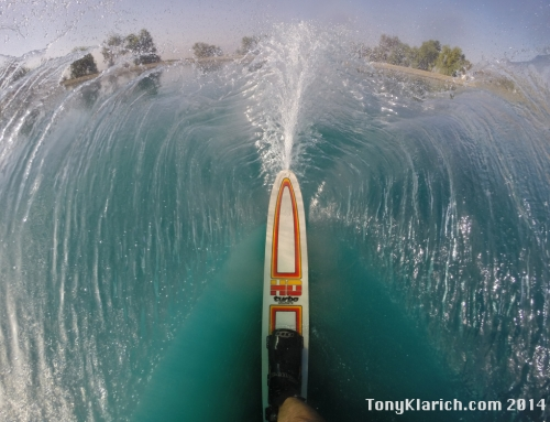 How to Get This Epic GoPro Water Skiing Shot on a Slalom Ski