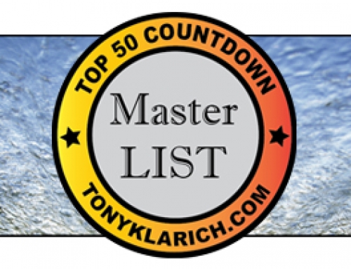All-Time Top 50 Photos of Tony Klarich: Master List