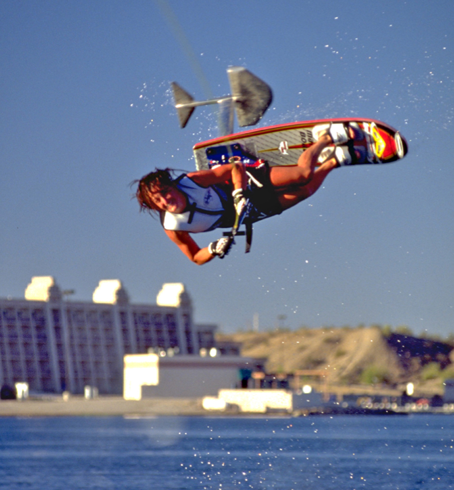 cheryl roberts world champion sky ski hydrofoil