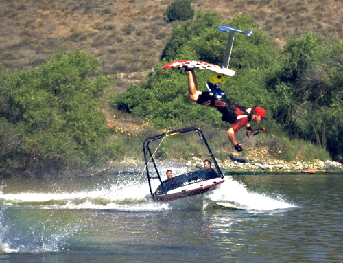 Adventures in Water Skiing, Hydrofoiling. EVENTS HORIZON