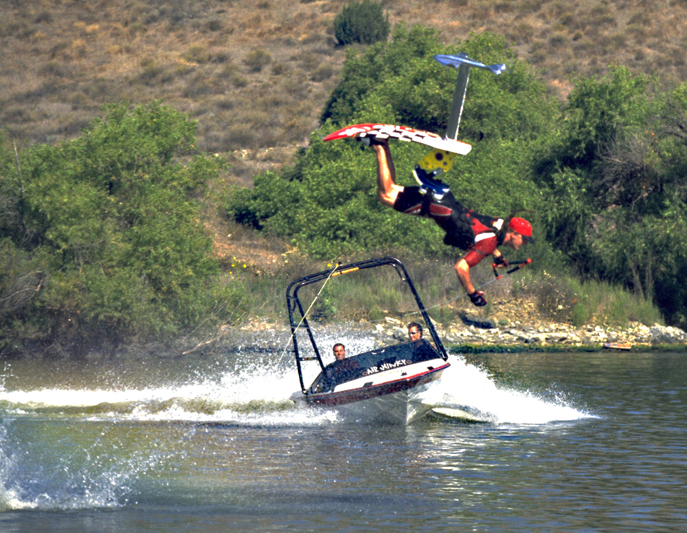 jake kinnison sky ski loop around the boat gainer