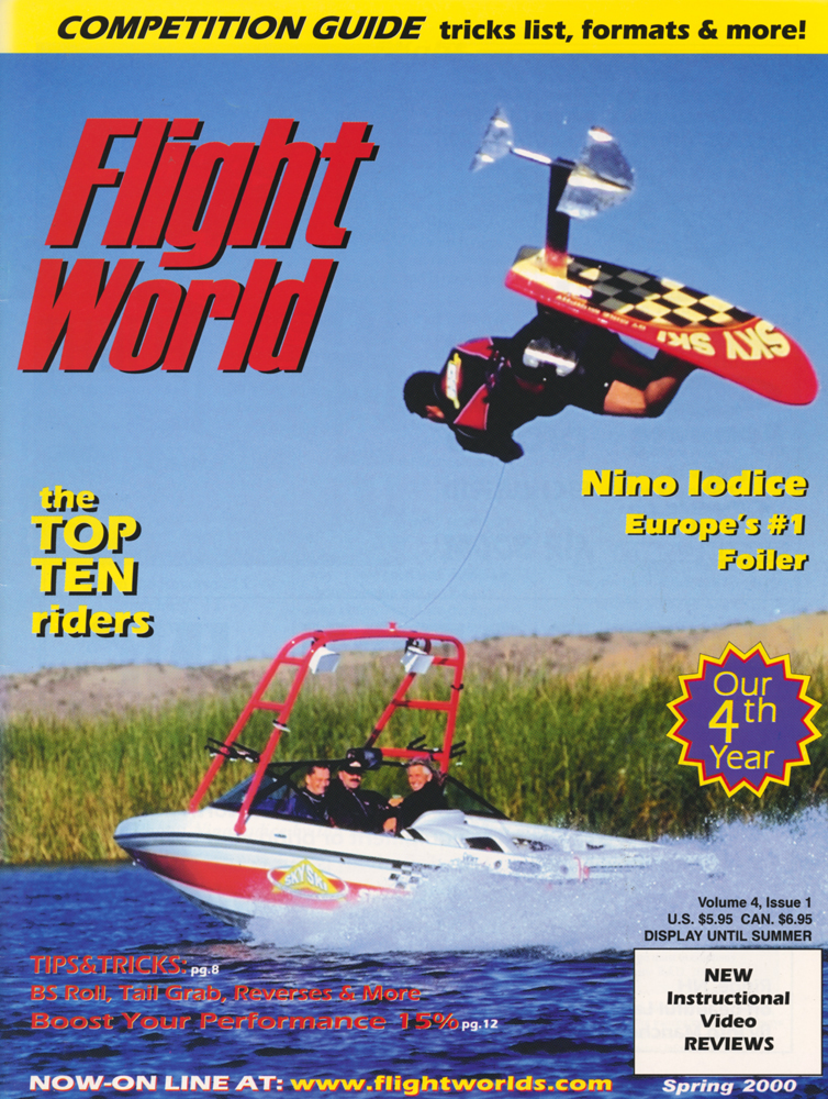 flight world hydrofoiling cover nino iodide sky ski gainer calabria