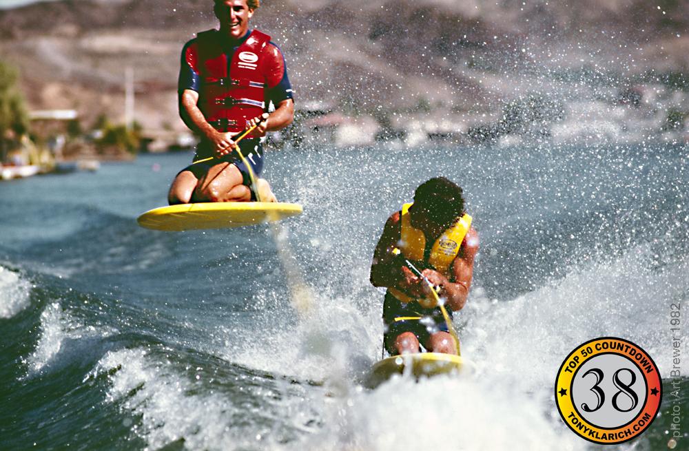tony klarich jumping kneeboard over mike murphy inventor best pictures top 50