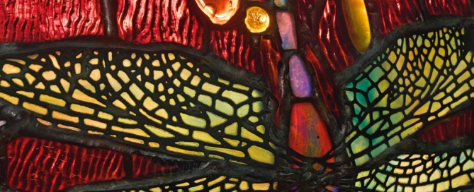 dragonfly coincidence spiritual Christian Tiffany lamp