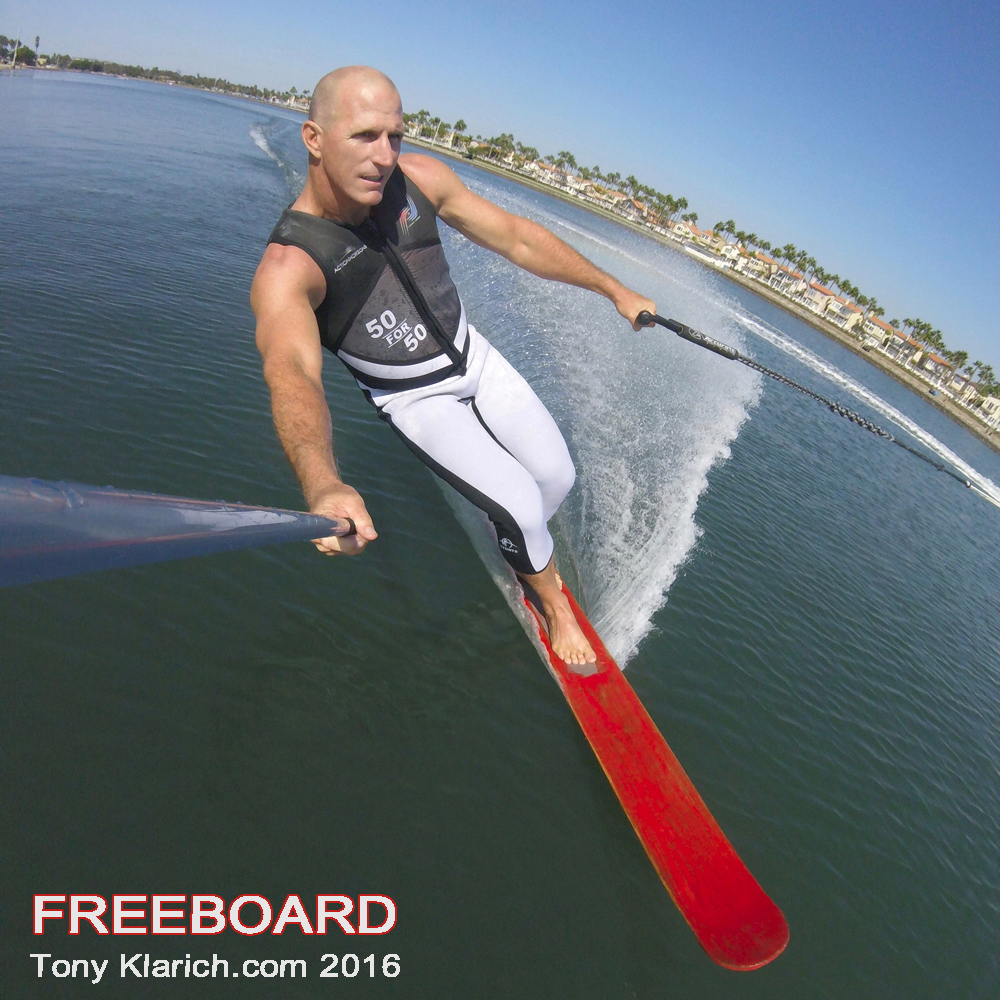 freeboard water ski vintage tony klarich rubber jungle 50 for 50