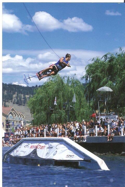 Jake Bradley Hydrofoiling Pro Tour water skiing