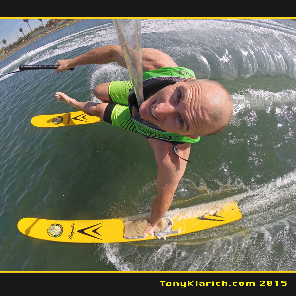 hand foot water skiing tony klarich cypress gardens acapulco